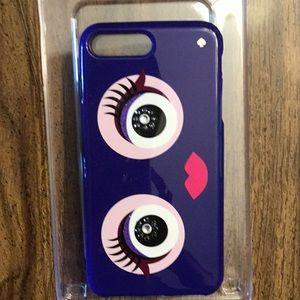 Kate Spade Purple Pink Monster iPhone case